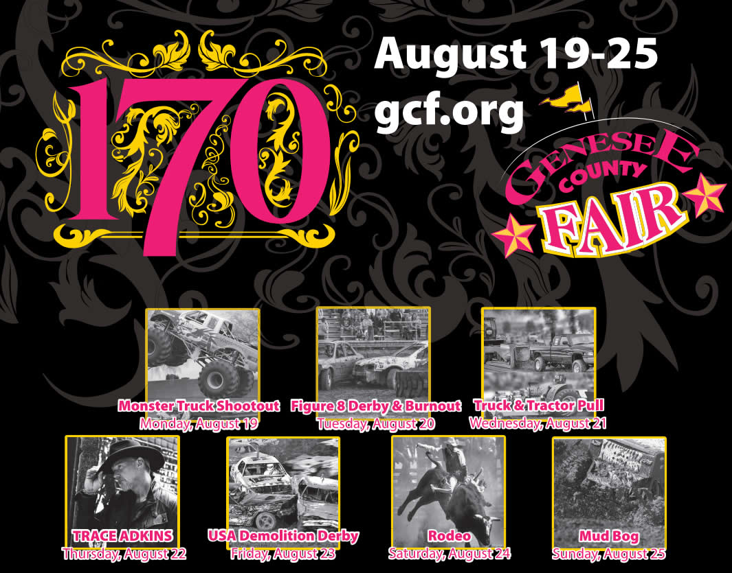 Celebrating 170 Years - August 19-25, 2019!