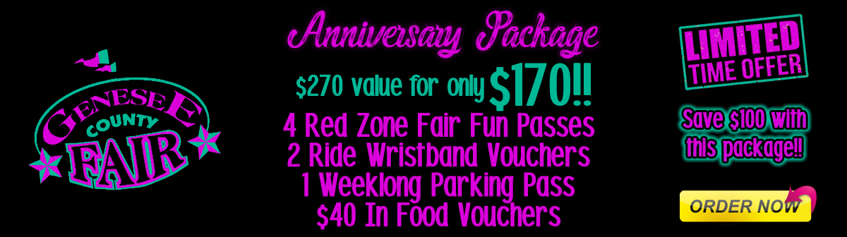 Fair Fun Passes available now!